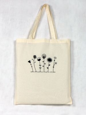 Tote Bag bio - Fleurs