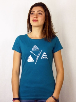 Tee-shirt Bio Femme  - Grenoble