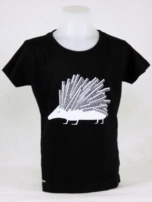 Tee-shirt fille - Hérisson