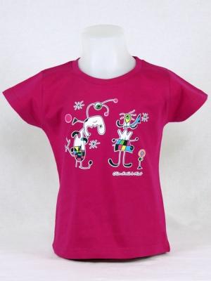 Tee-shirt fille - Clin d'oeil à Miro