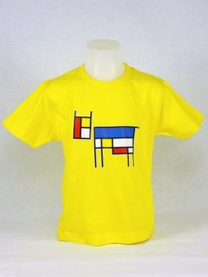 Tee-shirt enfant - Clin d'oeil à Mondrian