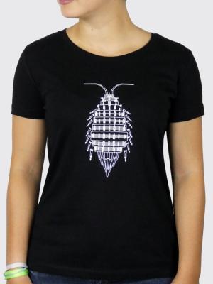 Tee-shirt Bio Femme  - Anima(Ex)Musica - Cloporte (Mathieu Desailly)