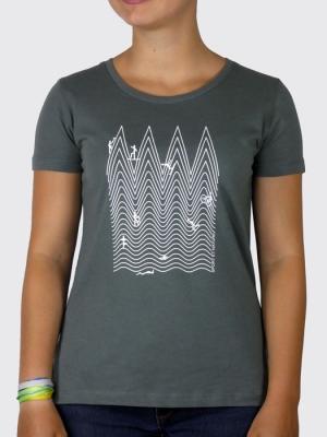 Tee-shirt Bio Femme - Sport et Nature