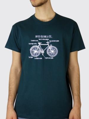 Tee-shirt - Un petit vélo dans la tête