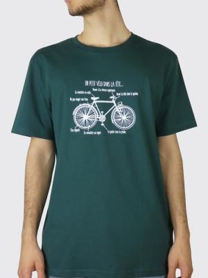Tee-shirt Bio Homme - Un petit vélo dans la tête