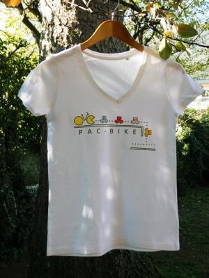 Tee-shirt Bio Femme - Pac Bike