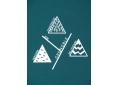 T shirt homme coton biologique graphisme original le Y de Grenoble Belledonne Chartreuse Vercors manche courte bleu canard