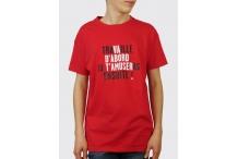 Tee-shirt - Travaille ou va d'abord t'amuser ... (Vincent Perrottet)